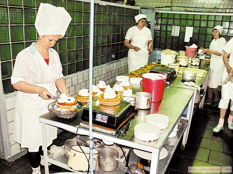 фото кондитерских цехов для тортов