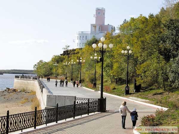 фото с набережной амура хабаровск